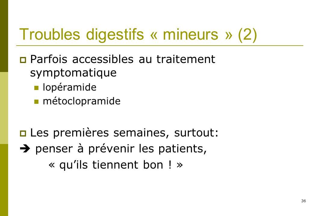 Troubles digestifs « mineurs » (2)