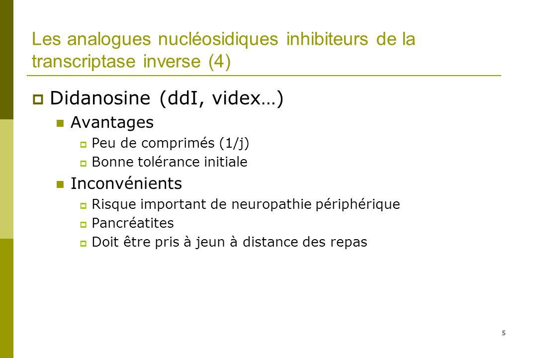 Didanosine (ddI, videx…)