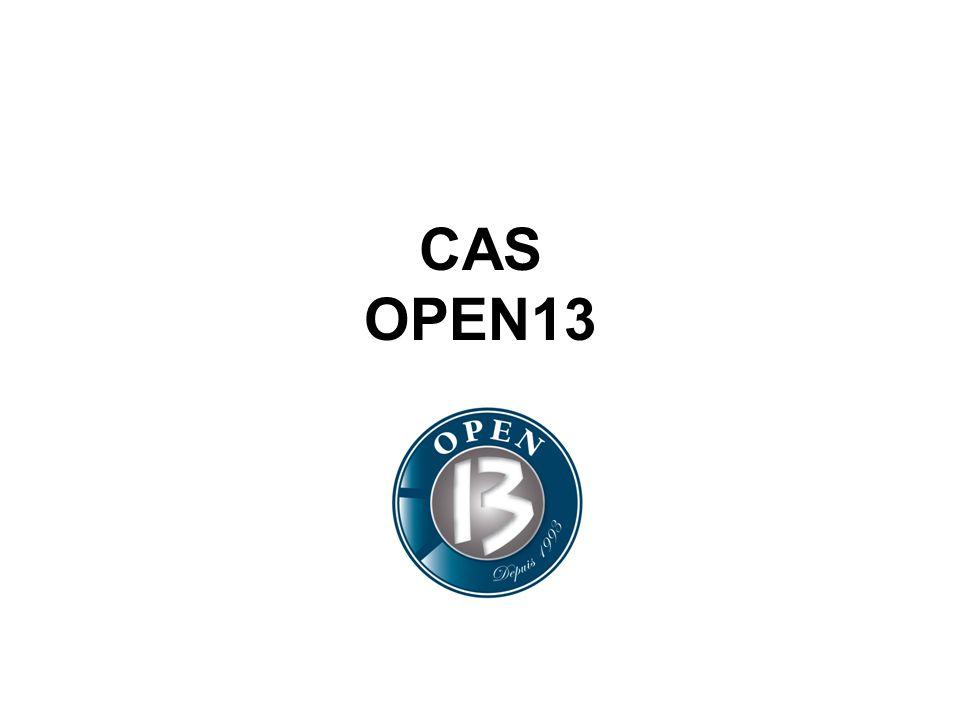 CAS OPEN13