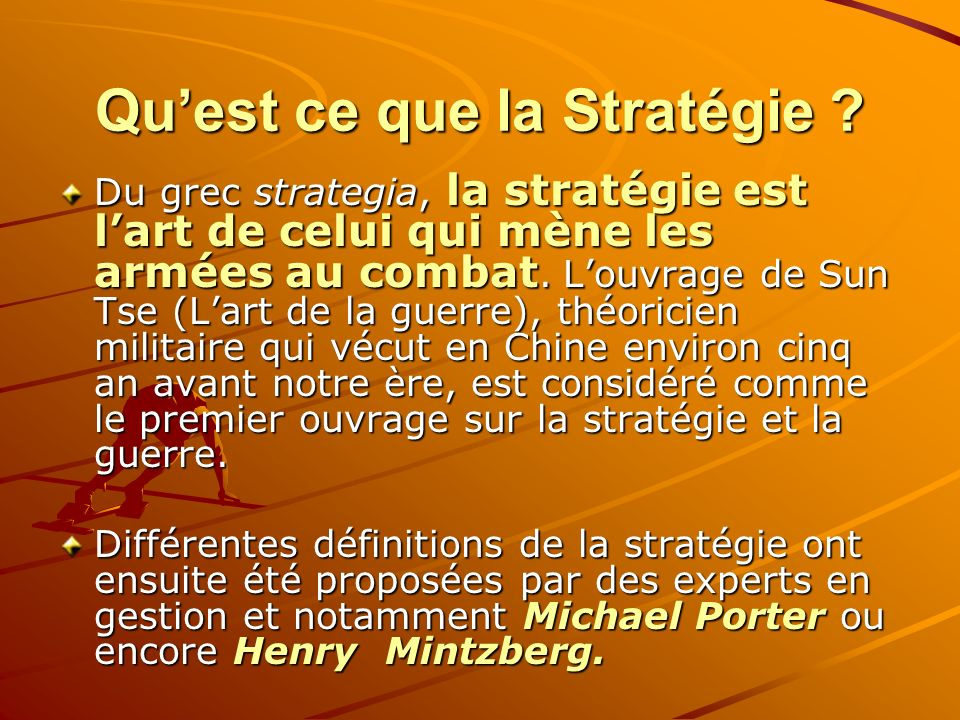S Ance 1 Management Strat Gique Des Organisations