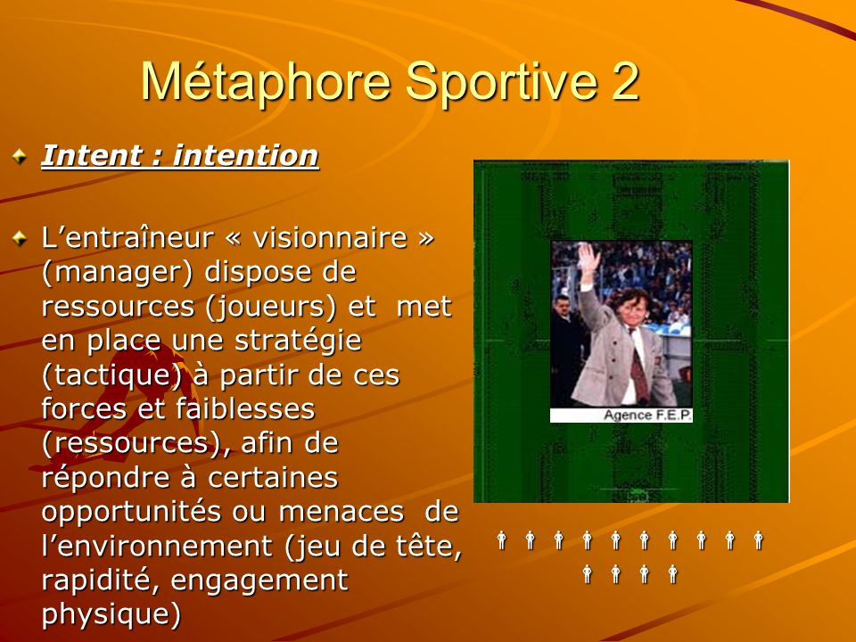 Métaphore Sportive 2 Intent : intention