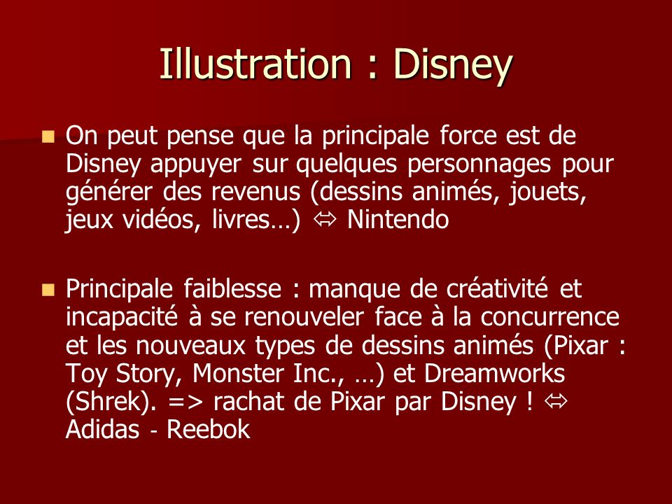 Illustration : Disney