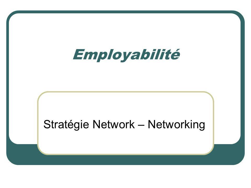 Stratégie Network – Networking