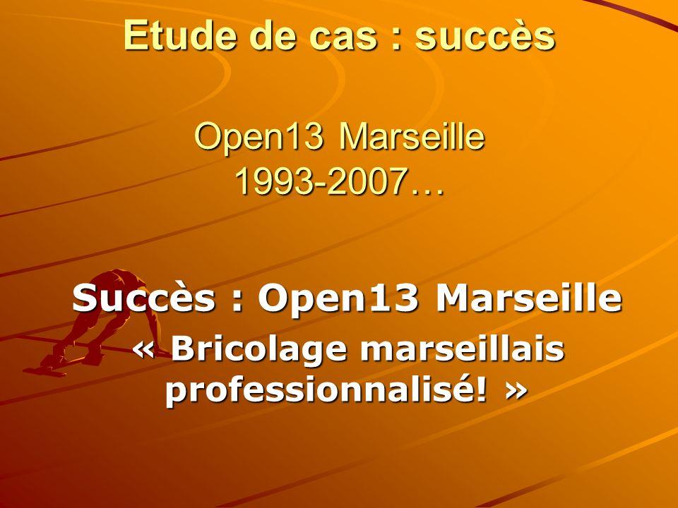 Succès : Open13 Marseille « Bricolage marseillais professionnalisé! »