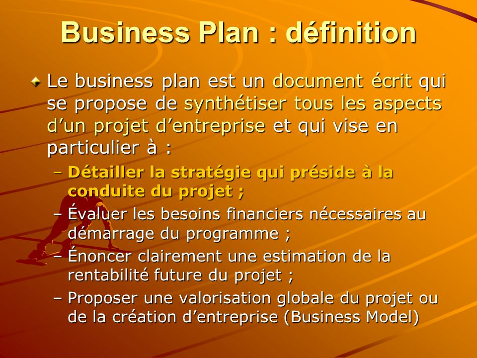 Business Plan : définition