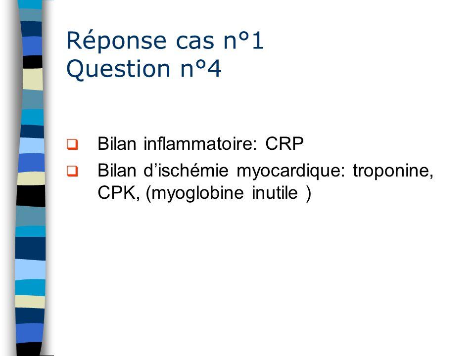 Réponse cas n°1 Question n°4