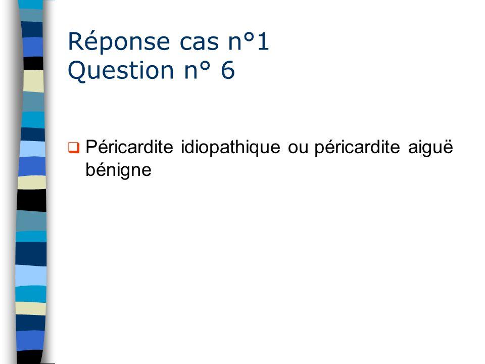 Réponse cas n°1 Question n° 6
