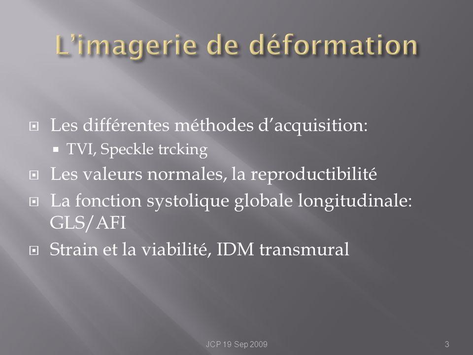 L'imagerie de déformation