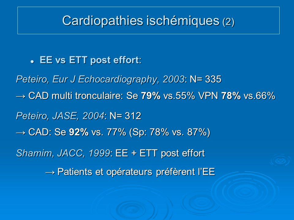 Cardiopathies ischémiques (2)