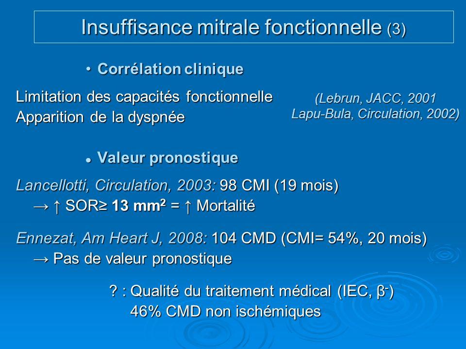 Insuffisance mitrale fonctionnelle (3)