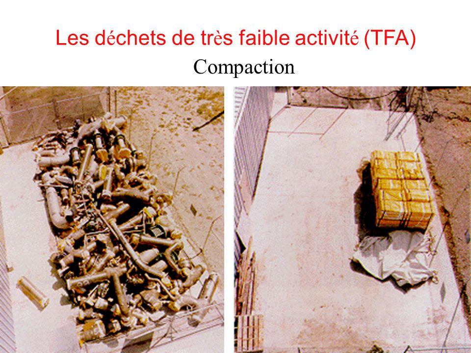 Les déchets de très faible activité (TFA)