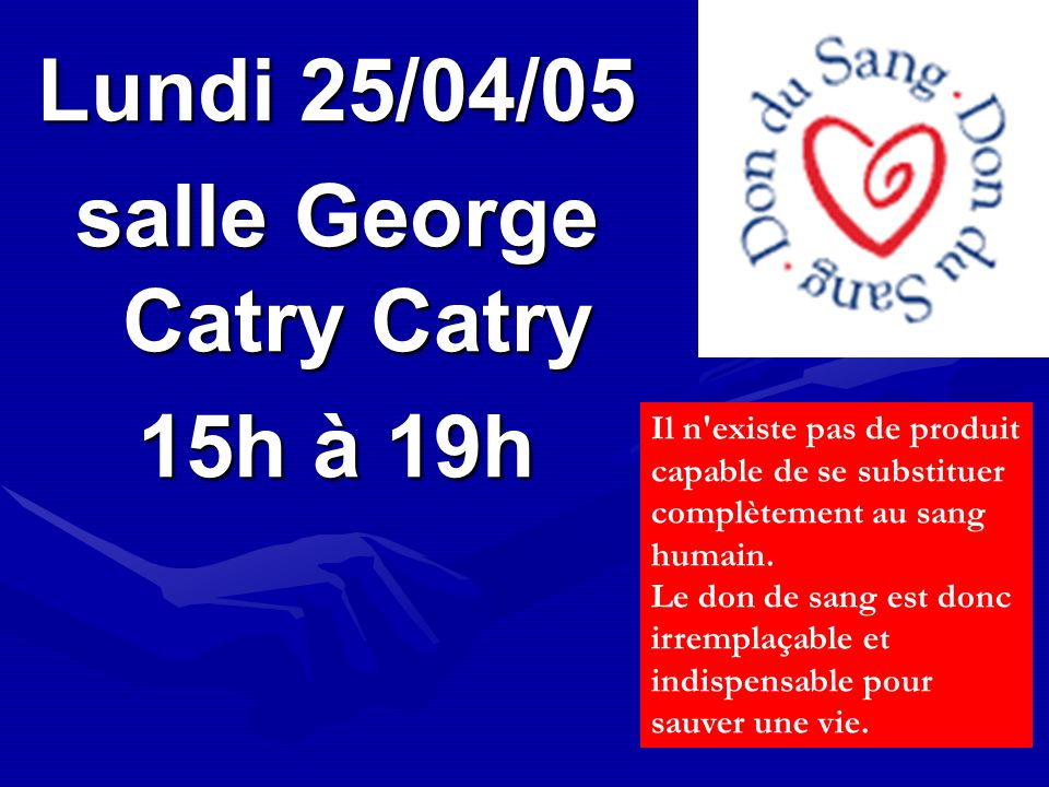 salle George Catry Catry