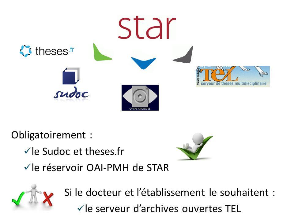 le réservoir OAI-PMH de STAR STAR