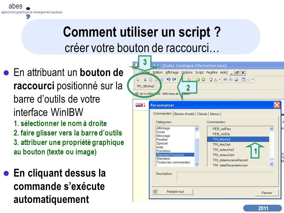 Comment utiliser un script créer votre bouton de raccourci…