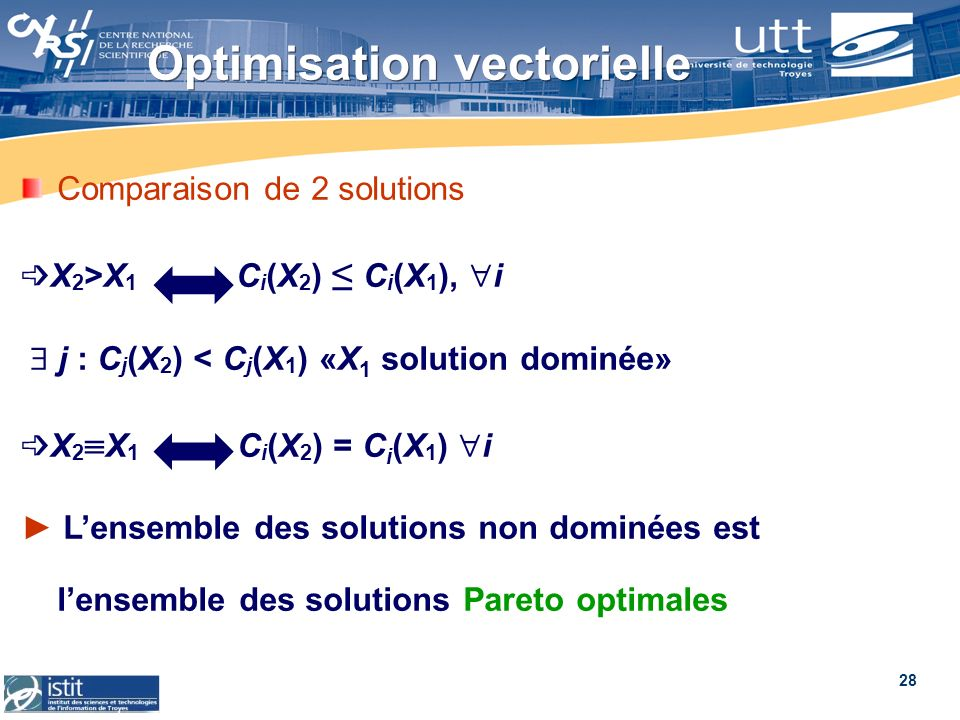 Optimisation vectorielle
