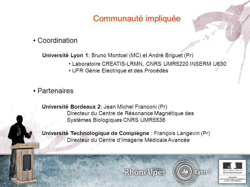 Communauté impliquée • Coordination • Partenaires