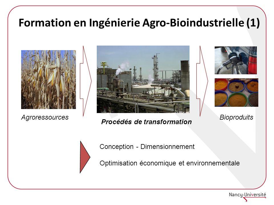 Formation en Ingénierie Agro-Bioindustrielle (1)