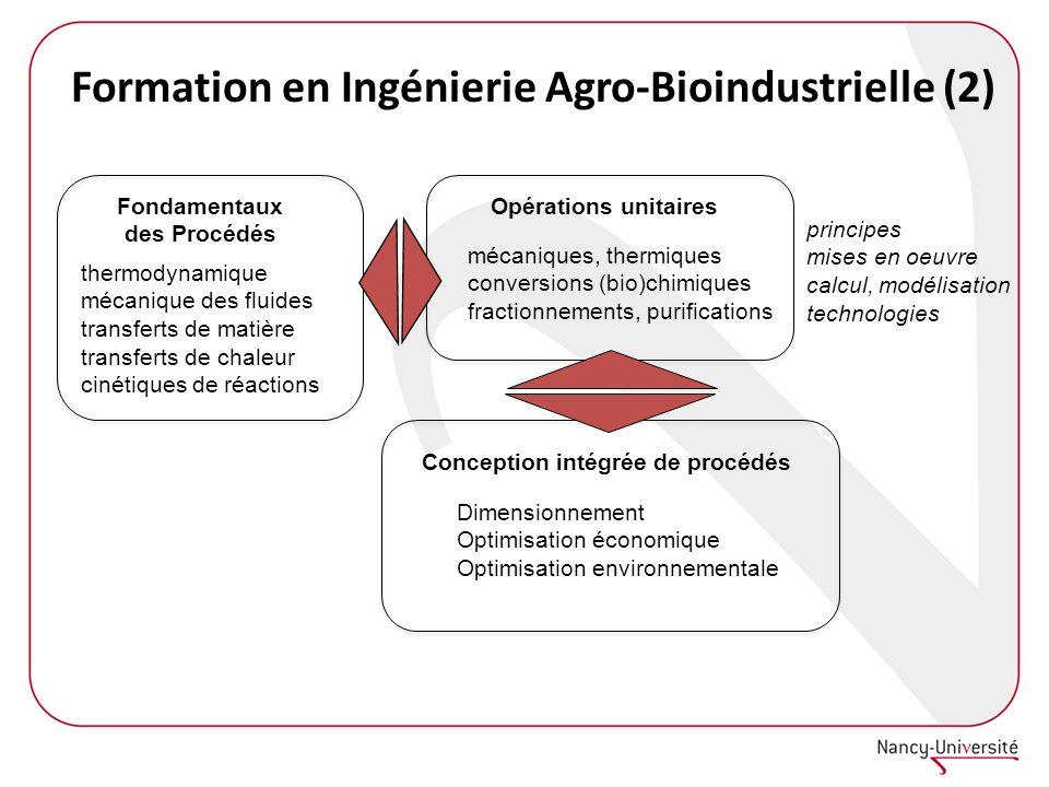 Formation en Ingénierie Agro-Bioindustrielle (2)