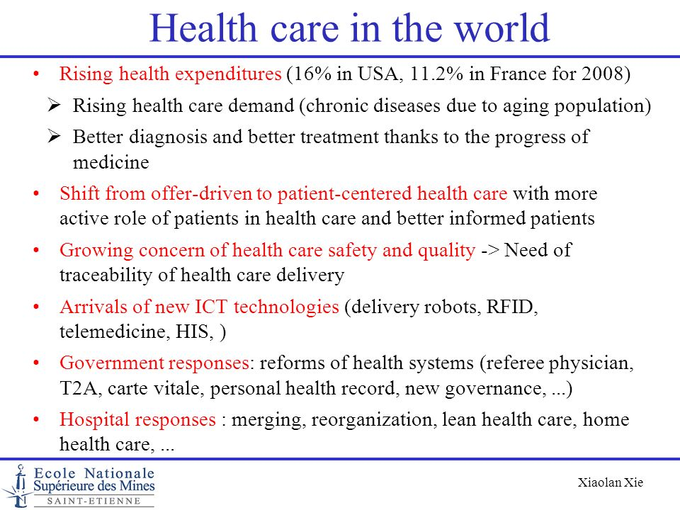 Health care in the world