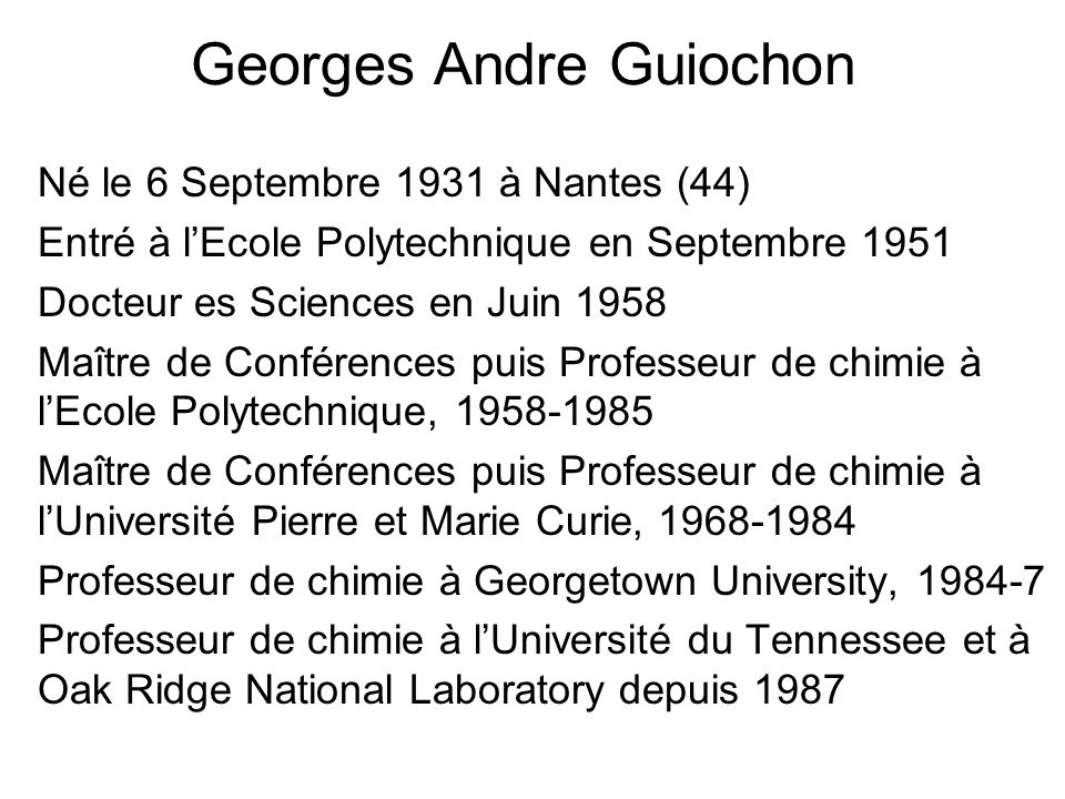 Georges Andre Guiochon