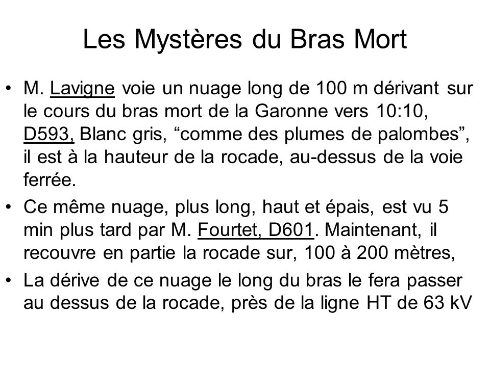 Les Mystères du Bras Mort
