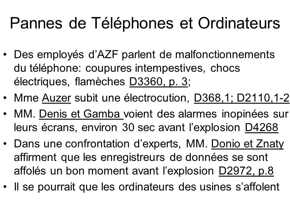 Pannes de Téléphones et Ordinateurs