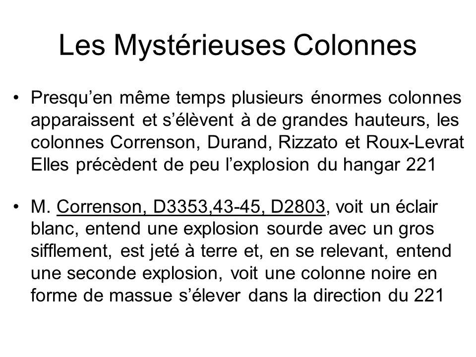 Les Mystérieuses Colonnes
