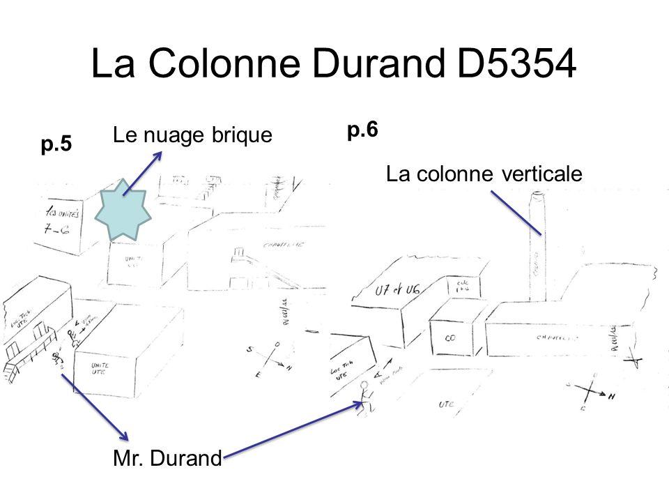 La Colonne Durand D5354 p.6 p.5 Le nuage brique La colonne verticale