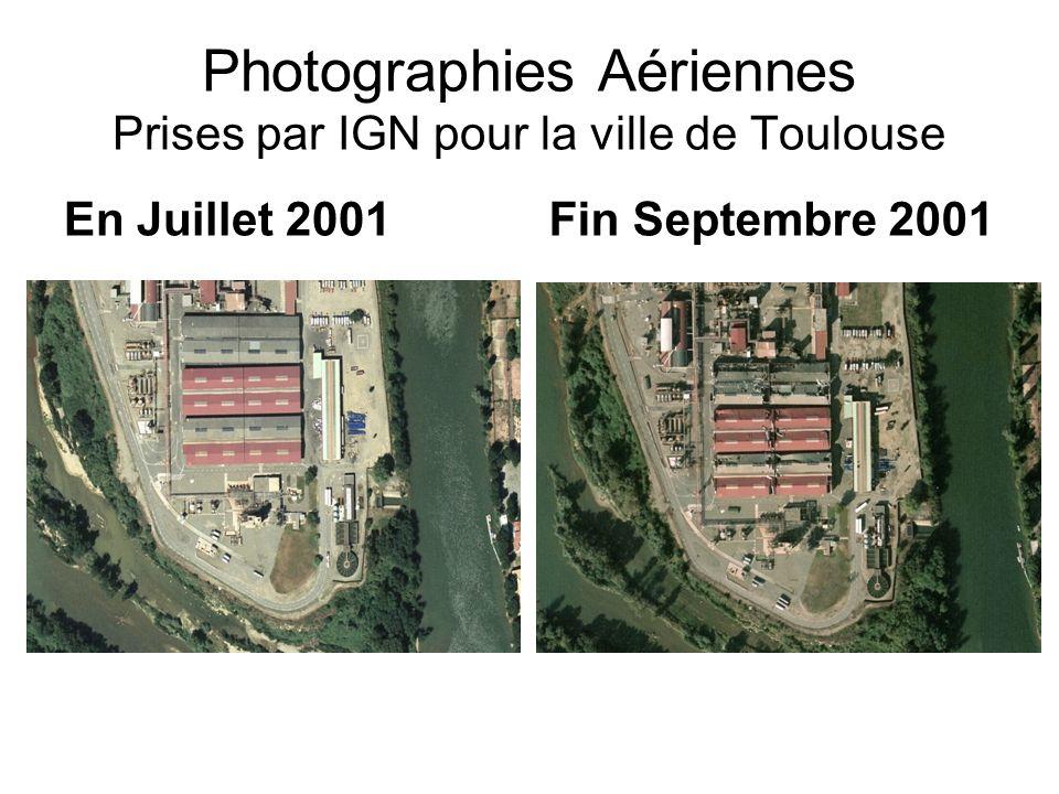 Photographies Aériennes Prises par IGN pour la ville de Toulouse