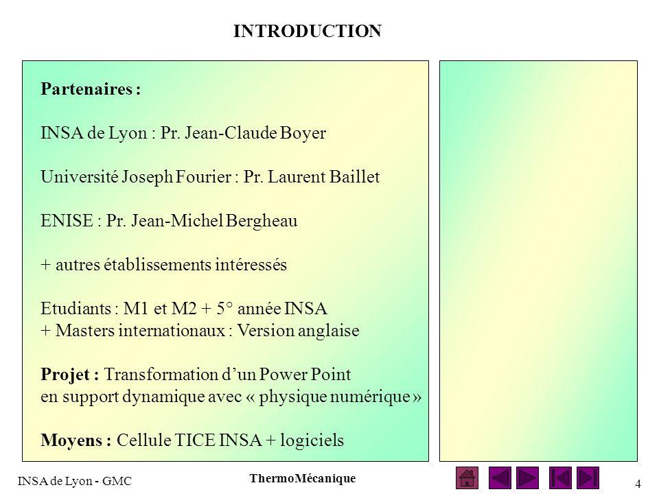 INSA de Lyon : Pr. Jean-Claude Boyer