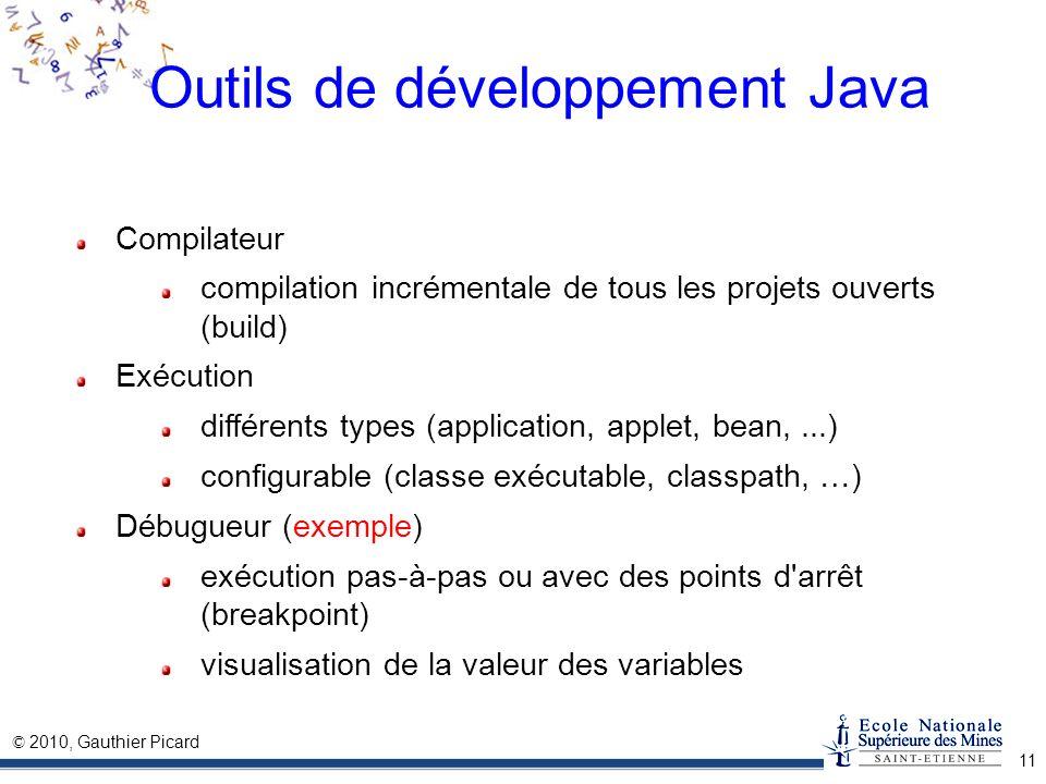 Outils de développement Java
