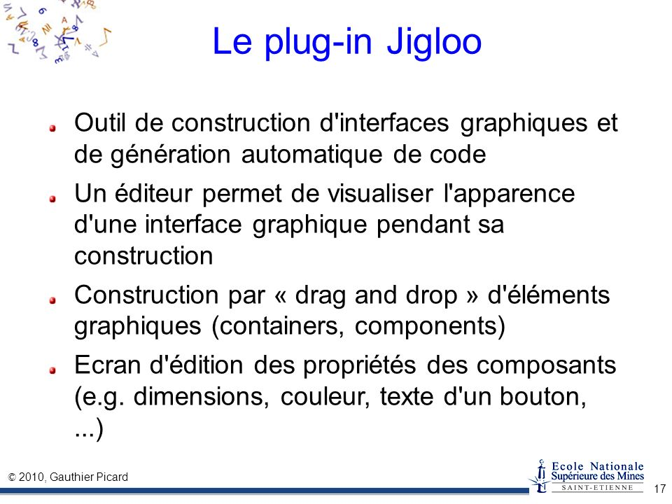 Introduction eclipse ppt t l charger for Outil de construction