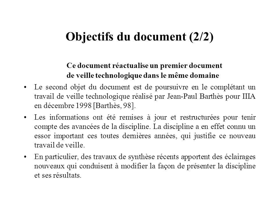 Objectifs du document (2/2)