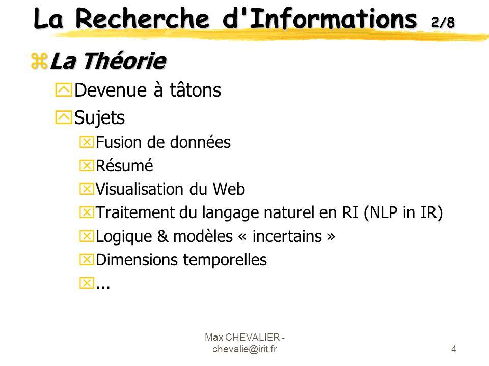 La Recherche d Informations 2/8