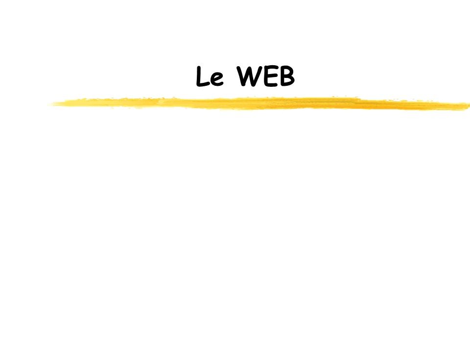 Le WEB