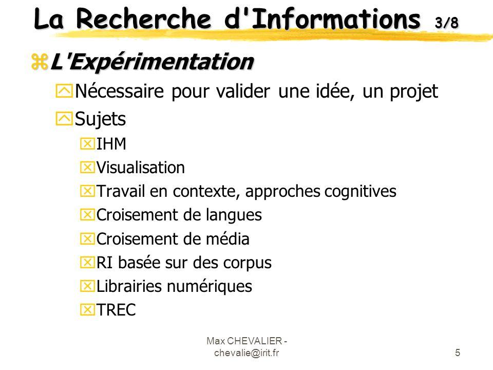 La Recherche d Informations 3/8