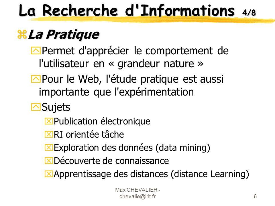 La Recherche d Informations 4/8