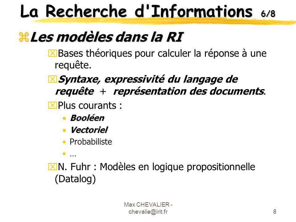 La Recherche d Informations 6/8