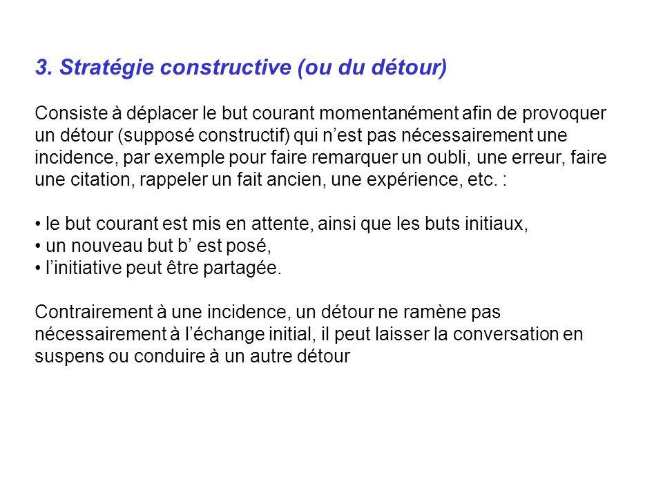 3. Stratégie constructive (ou du détour)