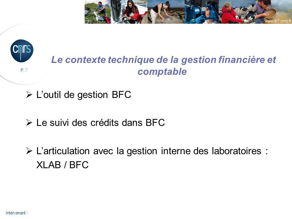 Le contexte technique de la gestion financière et comptable