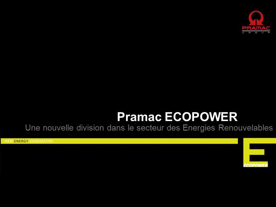 Pramac ECOPOWER Une nouvelle division dans le secteur des Energies Renouvelables