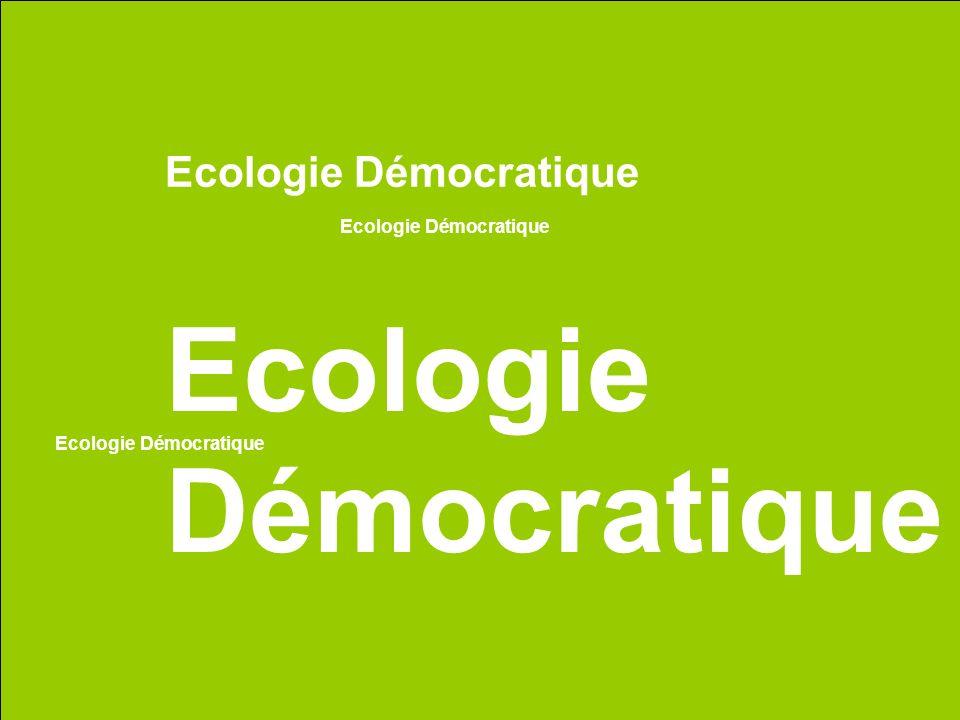 Ecologie Démocratique
