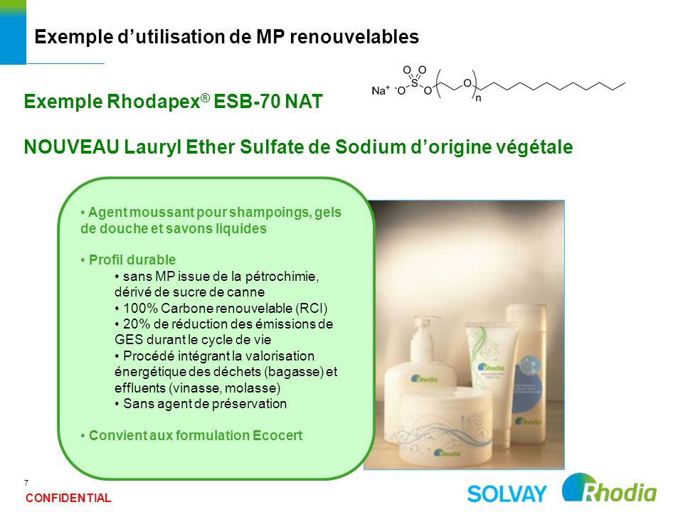 Exemple d'utilisation de MP renouvelables