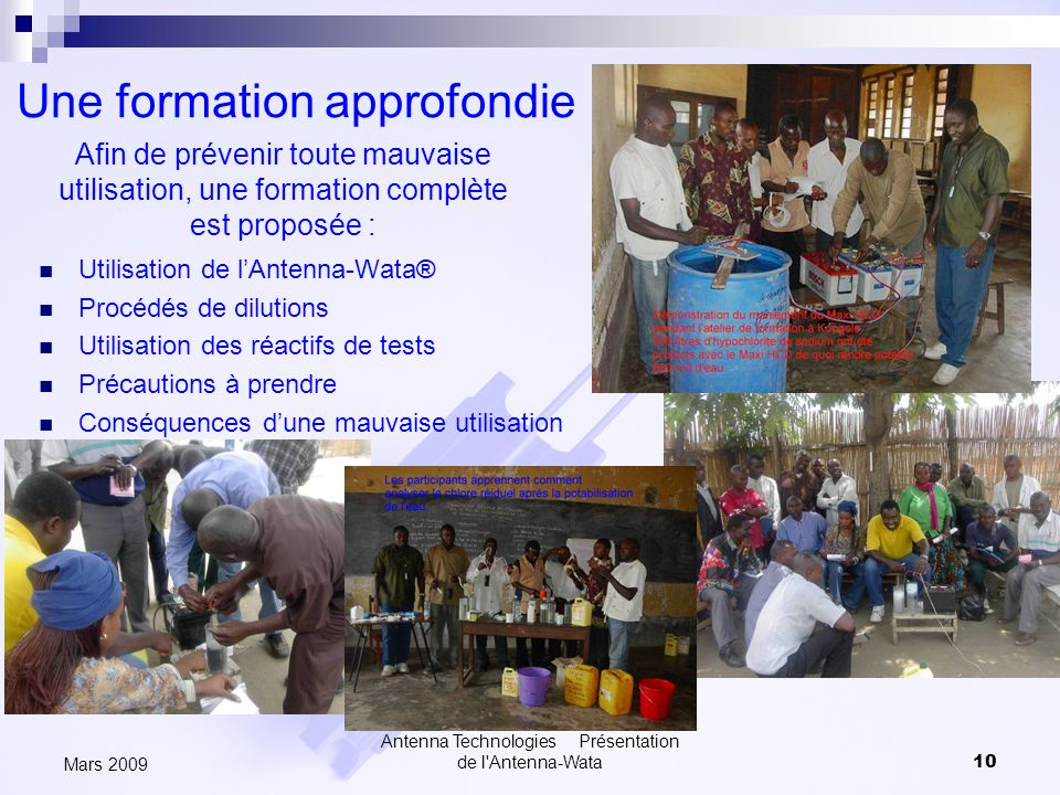 Une formation approfondie