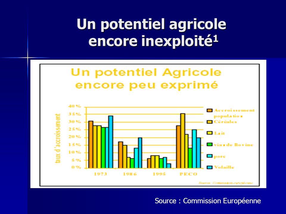Un potentiel agricole encore inexploité1