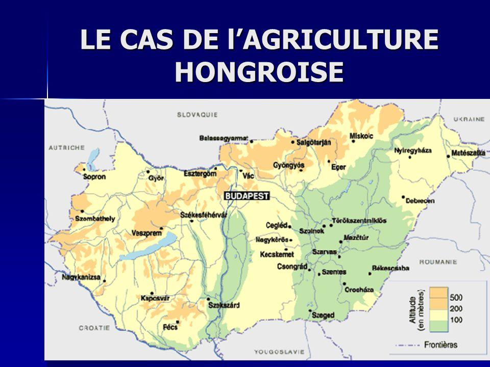 LE CAS DE l'AGRICULTURE HONGROISE