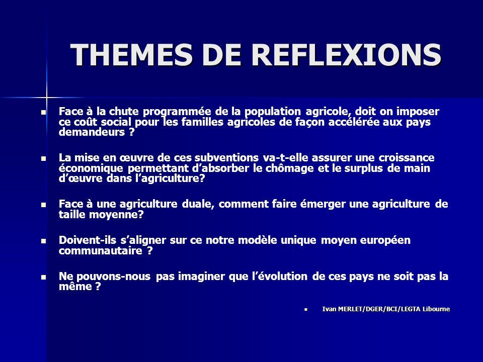 THEMES DE REFLEXIONS