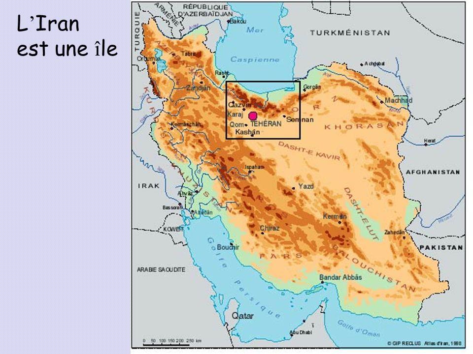 L'Iran est une île