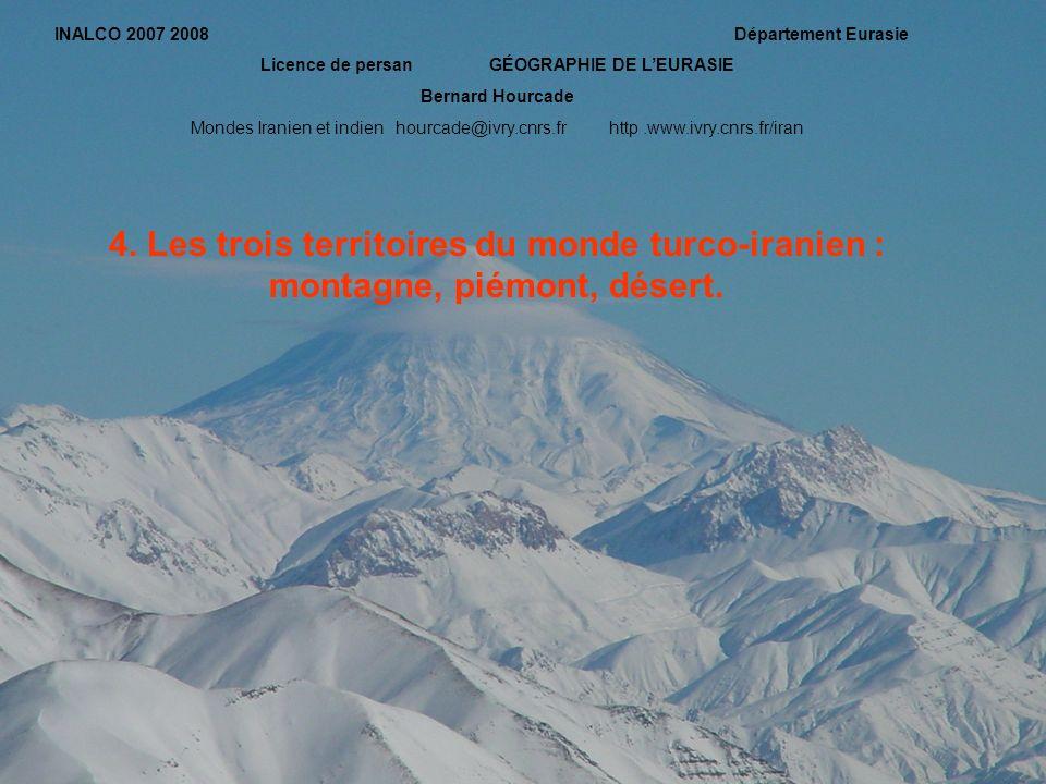 Licence de persan GÉOGRAPHIE DE L'EURASIE