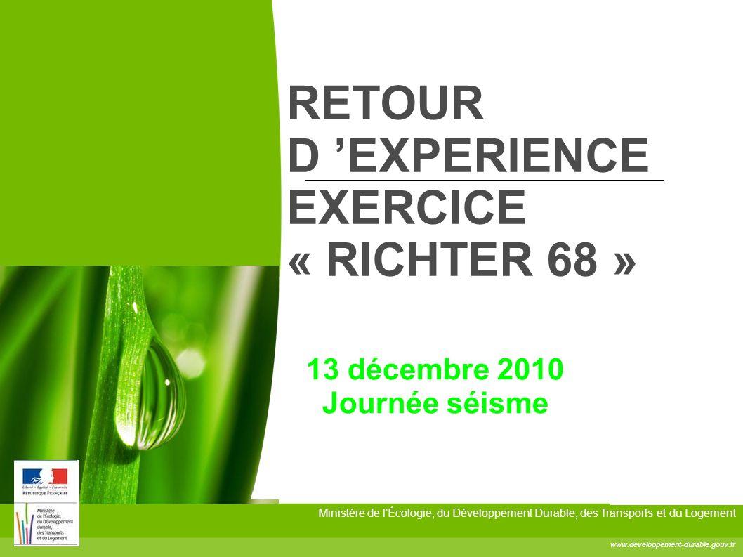RETOUR D 'EXPERIENCE EXERCICE « RICHTER 68 »